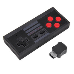 Wholesale Wholesale Nintendo Games - Mini Game Joystick Wireless Turbo Controller USB Plug and Play Gaming Gamepad for NES Classic Edition for Nintendo NS 2pcs lot