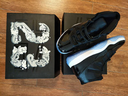 Wholesale Black Varsity - Retro 11 space jam bred varsity red concord man and woman basketball shoes 11s sneaker with box wholesale