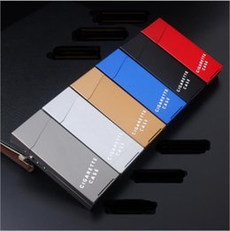 2019 caja de luz en forma de corazón Caja de tabaco DH7710 caja de tabaco de aluminio para mujeres se puede instalar 20