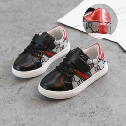 Argentina Los zapatos de las muchachas de los niños calzan los modelos de otoño 2017 los nuevos niños salvajes versión coreana de los zapatos deportivos ocasionales de la parte inferior suave antideslizante supplier korean models girl Suministro