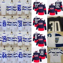Wholesale Oshie Jersey - Toronto Maple Leafs Washington Capitals 2018 Stadium Series Jersey Ovechkin Oshie Backstrom Holtby Kuznetsov Matthews Rielly Nylander Marner