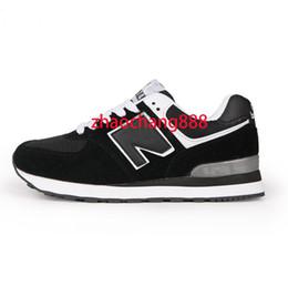 7415f46eeb052 2018 Nuove scarpe casual per uomo Low Lace up Scarpe casual equilibrate  Sneakers Moda uomo Zapatillas Scarpe da passeggio 574 Scarpe da ginnastica  36-44