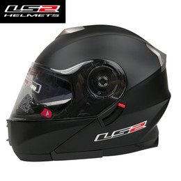 ls2 racing helmets Coupons - LS2 FF318 flip up motorcycle helmet fully removable & washable padding motorbike racing helmets man woman suit ECE approved