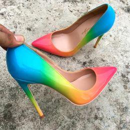 5f1de2771187 rainbows sandals Promo Codes - Free Shipping fashion new woman women lady  2018 new Rainbow color