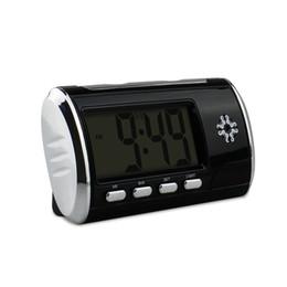Cámara de reloj de alarma HD 1080P Wifi Mini cámara de reloj Detección de movimiento Cámaras inalámbricas Videos de grabación Cámara de seguridad Niñera Cam con caja desde fabricantes