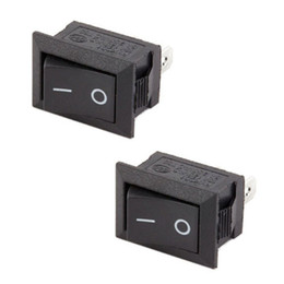 switch accessori Sconti 10 Pz lotto 2 Pin 12 V Car Boat Round Dot Light ON / OFF Rocker Toggle Mini Switch Tool Set Home Interruttori Accessori Strumenti Forniture