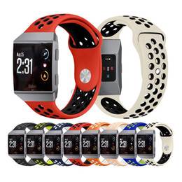 Wholesale Fitbit Accessories - New Arrived Sport NK Silicone More Hole Band Strap Replacement Accessories Wrist Band For Fitbit Ionic