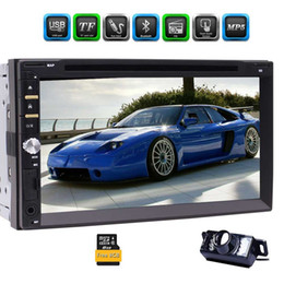 Wholesale full backup - Backup Camera+Eincar Double Din Car Stereo 7 Inch Full-Touch Capacitive Screen GPS Navigation system Car DVD Player Support Bluetooth