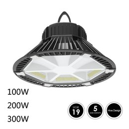 Wholesale Side Emitting Led Lights - Patent 100W 150W 200W 2018 NEW design HIVE led high bay light Side emitting lights UJR<19