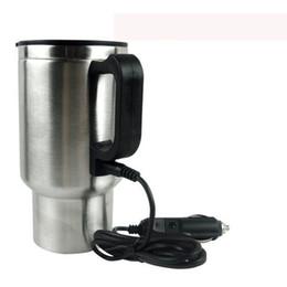 tazza di toyota Sconti Kele Cigaree Lighter Adapter Style 12V 450ml di viaggio automobile tazza di riscaldamento in acciaio inox coppa