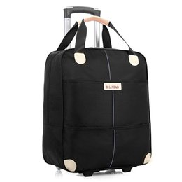 d2e21fc1d394 Brand 20 inch Women Wheels luggage travel Trolley Bag on wheels Travel  Suitcase Unisex Bag Large Capacity Baggage Suitcase bags
