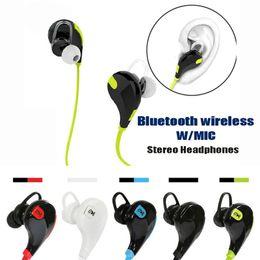 Deutschland JOGGER Bluetooth Kopfhörer QY7 Mini USB Wireless Mini Kopfhörer Stereo Ohrhörer Headset Mic für iPhone Sumsung Versorgung