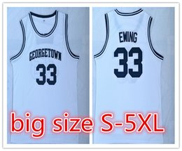 f302125b8310 2018 Customized NCAA Georgetown Hoyas  33 Patrick Ewing basketball jerseys  embroidery jerseys for man YOUTH size S-5XL or any name number