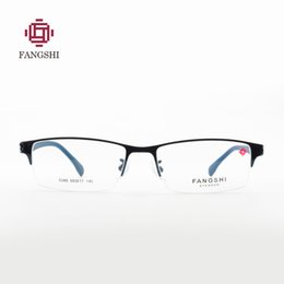 960795b7251 half frame mens eyeglasses 2019 - Classic Mens Alloy Half Glasses Frames  Myopia Optical Frame Ultra