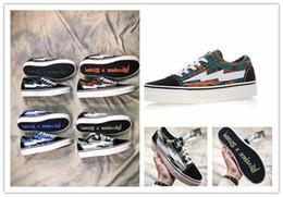 Wholesale old pvc women - 2018 Yezee Calabasas Stylist Ian Connors Revenge X Storm Old Skool Training Sneakers kanye west calabasas Casual Shoes Men Women Shoes