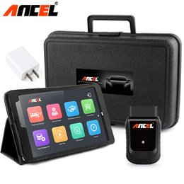 "Tableta para diagnóstico online-X5 Professional Automotive Scanner Wifi + 8 ""Windows Tablet Life Update Free OBD Diagnostic Scanner ferramenta automotiva"