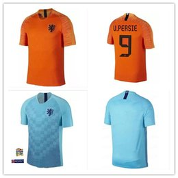 NEW Nederland soccer jersey 2019 netherlands home away shirt 18 19 top  quality ROBBEN MEMPHIS DEPAY V.Persie Dutch VIRGIL football shirts 0cabaa479