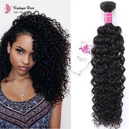 Wholesale Indian Jerry Curl Weave - Trendy 8-30inch Jerry Curl Remy Indian Human Hair Weft 1B 100% Unprocessed Virgin Hair Curly Weaving Extensions for Black Women