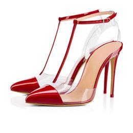 2018 новая мода обувь женщины сандалии Гладиатор острыми пальцами zapatos лодыжки обернуть шпильках высокие каблуки ПВХ обувь сандалии женская обувь от Поставщики zapatos stilettos