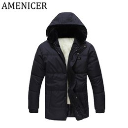 Wholesale Fur Manufacturers - Men Manufacturers Thicker Coat For With Hoody Padded Fat Fur Inner Plus Fat Fitted Warm Jackets Man Comfortable Cotton Jacket
