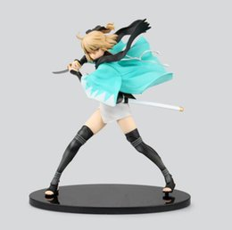 Wholesale Fate Saber Figure - Anime Figure 21CM Fate Stay Night Fate KOHA-ACE Sakura Saber Okita Souji PVC Action Figure Collection Model Doll Toy Brinquedos