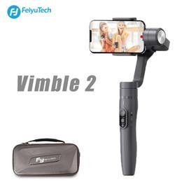 mini transmisor de cámara Rebajas FeiyuTech Vimble 2 Estabilizador de mano extensible de 3 ejes con seguimiento de objetos Panarama Shooting Dynamic Time-Lapse Gamble