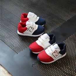 Zapatos año niñas online-2018 New Retro Kids Shoes Retro zapatos casuales niños niños pequeños niños niñas bebé años marcas Superstar Sneakers Shoes