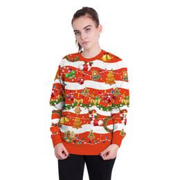 2019 süße druck pullover Weihnachten Cute Polos 30 Styles zu wählen Mode Stile für die Polos Festliche 3D Digitaldruck Pullover Pullover günstig süße druck pullover