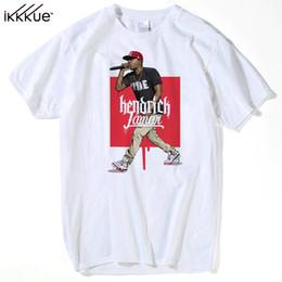 Wholesale wholesale designer clothes brands - Branded Custom Designer Rapper T Shirt Kendrick Lamar Tee Men Youth Short Sleeves O Neck Men's Great Hip Hop Clothing