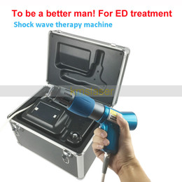Wholesale physical equipment - ED treat Physical Pain Therapy System Acoustic Shock Wave Therapy Equipment Extracorporeal Shockwave Machine For Spot Injury Treatment