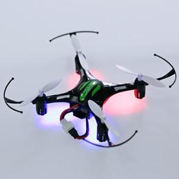 Cf luz online-H8 Mini Drone 6 Axis RTF RC Quadcopter Luces Nocturnas Led Modo CF de Alta Calidad de Interior Aviones de Inducción Drone Niños Juguetes