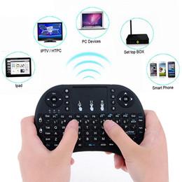 18 téléviseurs en Ligne-2.4G Mini USB Clavier Sans Fil Fly Air Touchpad Pour Android Smart TV Box PC 74 clé standard + 18 clé média