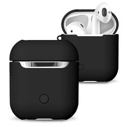 Apple AirPods Için kulaklık Durumda Kapak Gerçek Kablosuz Bluetooth Kulaklık Darbeye Koruyucu AirPod kulaklık Aksesuarları tam koruma nereden