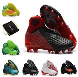 Argentina Nuevos zapatos de fútbol Botines, 3D ACC impermeable Magista OBRA II FG Zapatos para correr Soccer + Box + Bolsa de fútbol supplier soccer running shoes Suministro