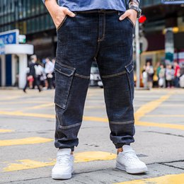 c1727203e4a 2018 New Jeans Men Classical Jean High Quality Straight Leg Male Casual Pants  Plus Size 30 32 34 36 38 40 42 44 46 Jean Trousers