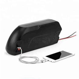 Canada Livraison gratuite 1kw 48v batterie de vélo électrique 48v volt 13Ah avec USB Down Tube Hailong 750W à 1000W 8Fun / Bafang Moteur + BMS + Chargeur 2A Offre