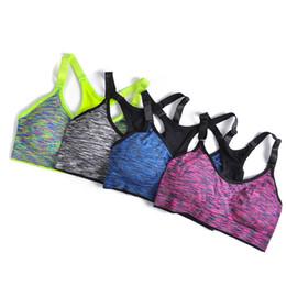 Wholesale Men S Seamless Underwear - Women Quick Dry Sports Bra,Women Padded Wirefree Adjustable Shakeproof Fitness Underwear,Push Up Seamless Yoga Running Tops