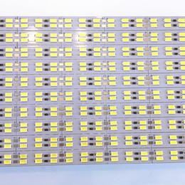 Wholesale Led Rigid Strip Red - 10pcs Lot 50cm PCS Led Bar Light 5630 Hard rigid led Bar light 72led pc 144leds M 12V Aluminum Strip Rigid