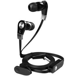 Moda JM02 auriculares sin enredadera Super Bass Sound 3.5 mm en auriculares con micrófono y control remoto para iPhone Samsung HTC con paquete al por menor desde fabricantes