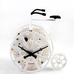 Wholesale Gear Alarm Clock - Bicycle gear alarm automobile despertador digital watch electronic desk home decor klok masa saatial fajr clock metal mute