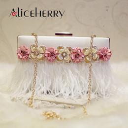 2796f54599 2019 borsa di fiori fatta a mano Sacchetto di frizione del fiore Handmade  della borsa di