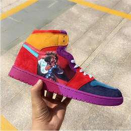 ddf815187e3 Best quality 1 FOFDESIGNS I red high og men basketball shoes 1s sports  outdoor fashion trainers sneakers With box size 7-12