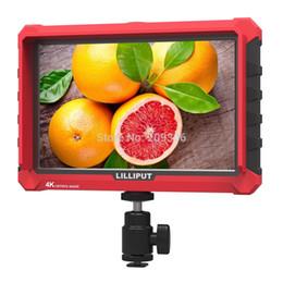 """Moniteur vidéo pour dslr en Ligne-Lilliput A7S 7 """"moniteur de champ vidéo sur caméra HDMI ultramince IPS Full HD 1920 1200 4K pour appareil photo reflex numérique Canon Nikon Vidéo"""