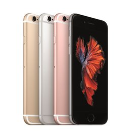 Wholesale Original 128g - 100% Original Refurbished Apple iPhone 6S 6S Plus 16G 64G 128G IOS 4 Colors A screen Smartphone without fingerprint Wholesale China DHL free