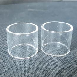 Wholesale Sub Ecig - Ecig Clear Glass Tube For Smok TFV8 X Big baby 4ml 2ml TFV12 Prince Vape Pen 22 PLUS Minos Sub Ohm Tank Atomizers