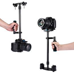 2019 handheld dslr kamerastabilisator PULUZ 38,5-61 cm Kohlefaser Handheld Stabilisator für DSLR DV Digitale Videokameras Mini Video Stabilizer rabatt handheld dslr kamerastabilisator