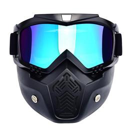 Wholesale Downhill Glass - Winter Sports Snow Ski Mask Mountain Downhill Skiing Snowboarding Glasses Ski Googles Masque Ski Gogle Snow Skate