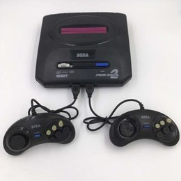 sega card Coupons - Hot Sega Genesis MD compact 2 in 1 dual system game console catridge rom support original game card