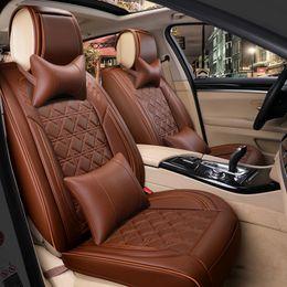 Wholesale Honda Crv Car Cover - wholesale car seat cover leather for honda accord 7 8 9 civic 5d cr-v crv fit jazz city 2009 2008 2007 2006