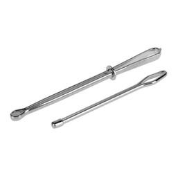 gürtel elastisch gewebt Rabatt 2 teile / satz Edelstahl Zitiert Clips Elastische Gürtel Tragen Seil Weben Werkzeug